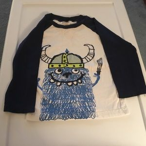 Gymboree Boys Monster Long Sleeve Shirt. Size 2T